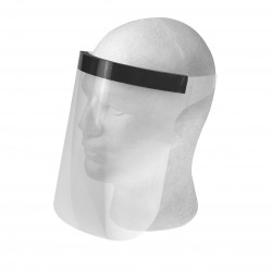 face mask, hard-PVC material, 240 x 230 mm (W x H)