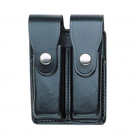 BIANCHI® 20C PartolTek(TM) Leder, Doppel-Magazintasche geschlossen