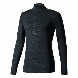 adidas® Unisex Stehkragenshirt TECHFIT, climawarm(TM), compression, langarm