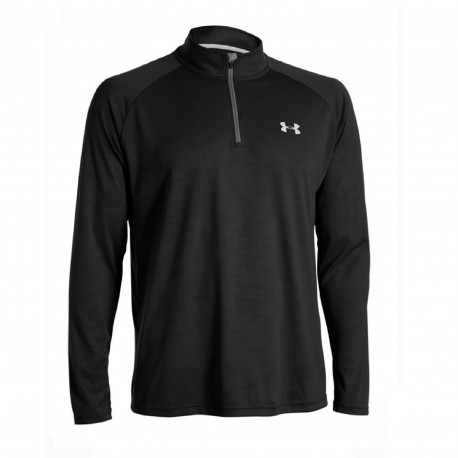 Under Armour® long slevve Tech Tee 1/4 Zip Heatgear®, loose