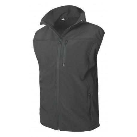 Softshell  Weste  COP® 911 (schwarz, Gr. 2XL)