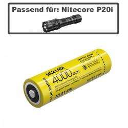 NiteCore® Li-Ion Akku NL2140i 4000mAh für Nitecore P20 i