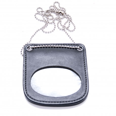 COP® Marken-Halter OHNE DRUCK, oval, Leder