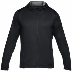 """Under Armor® Mens Hooded Jacket """"Tech Terry"""" ColdGear®, fitted"""