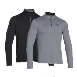 """Under Armour® Long Sleeve Shirt """"Infrared""""1/4 Zip""""ColdGear®"""""""