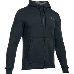 Under Armour® Flecce Mens Hooded Jacket, Threadborne(TM), ColdGear®, fitted