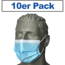 Mouth and nose mask Pack of 10