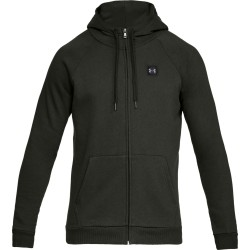 Under Armour® Mens Full Zip Hoodie RIVAL FLEECE  ColdGear®, fitted