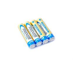 Maxell  AAA LR03 Alkaline Batterie 4pc Blisterpack