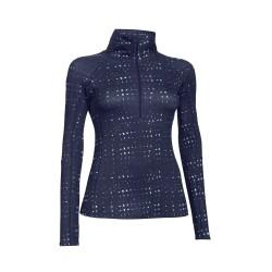 "Under Armour® Ladies Pullover ""Cozy Printed 1/2 Zip"" ColdGear®"
