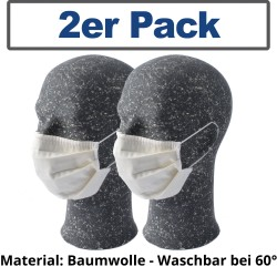 reusable mouth and nose mask 2pcs