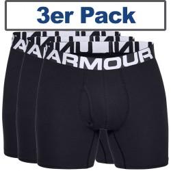 Under Armour® Boxershort Charged Cotton®, mit Eingriff, HeatGear® 6, 3er Pack