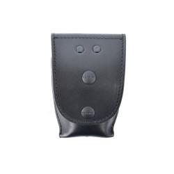 COP® 8402 Gr. XL geschlossene Handfesseltasche, Klett-Druckknopfverschluss,Leder