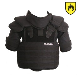 Torso for C.P.E. Protective Suit Modell 08 Flame Retardant