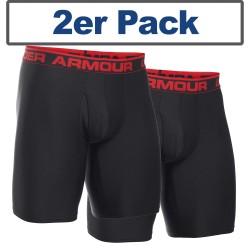 "Under Armour® Original Boxer Jock, with fly, HeatGear® 9"" 2er Pack"